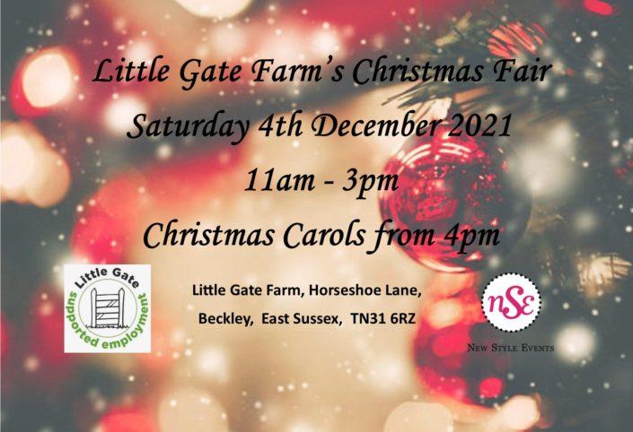 Christmas Fair Details